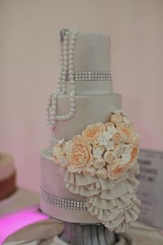One more amazing  wedding cake at #WeddingSalon