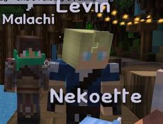 does anyone see Zane and garroth in Levin and Malachi