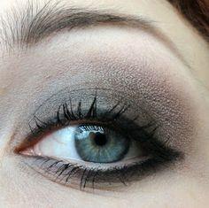 Medium to dark smokey eye look w/ taupey shades and a dupe to MAC's Club.