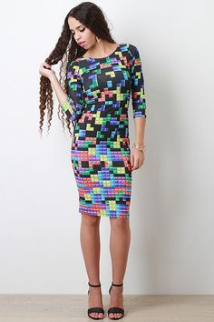 Pac-Man And Tetris Dresses Are Perfect For Gamers