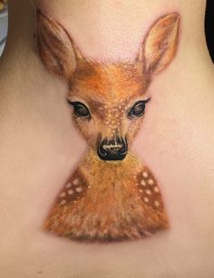 Gazelle tattoo Baby deer