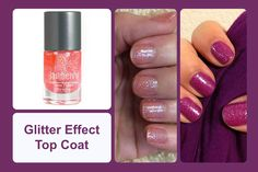 Glitter Effect Top Coat