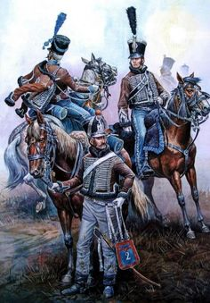 French 2nd regiment of Hussars
