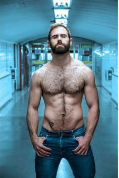 Hairy Francesc Gasco Shirtless by Andreu Mena