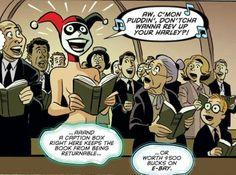 That's when everything went ka-blooey!    --Harleen Quinzel