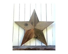 Barn Wood Star  Rustic Decor  Primitive by SecondNatureWoodwork, $90.00