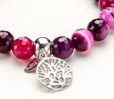 Pink Agate, Pandora Charms, Bracelets, Jewelry, Jewlery, Jewerly, Schmuck, Jewels, Jewelery