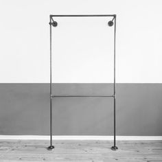 clothes rack steel pipe open wardrobe by VariousDesignShop