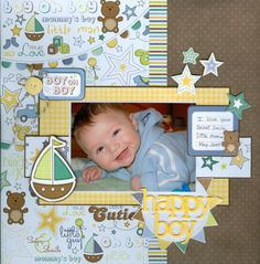 1000 ideas about baby scrapbook layouts on pinterest