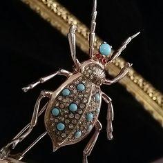 Nettie Rosenstein Sterling Silver Spider by OldGLoriEstateSale