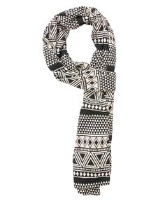 Tribal Print Satin Scarf (will be an amazing head wrap) | FOREVER21 $9.80