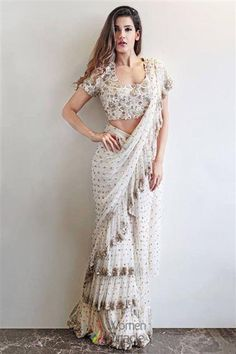 909acd0229 Looking pretty in this party wear #saree #silk Trendy Bollywood Party Wear  Saree On Sale. #womenoraclesaree #partywear #trendy #womanfashion #ukbride  ...