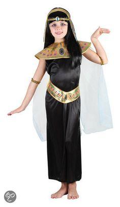 Superluxe Egyptische Prinses - Kostuum - 7-9 jaar (voor werk)