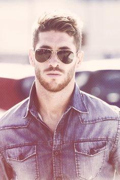 Nice hair and beard #beard #hair #style