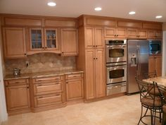 Covering soffits above cabinets - Google Search