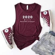 2020 One Star Review - Bella+Canvas Tank Top – Hustle and Thrive