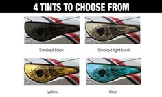 Four Great Tints To Choose From Including Smoked Black, Smoked Light Black, Yellow Or Blue. Our Spray Film for Lights is a highly flexible and transparent water-based coating suitable for automotive lens protection, revitalization and customization. Black Smoke, Performance Parts, Black N Yellow, Lights, Film, Water, Color, Style, Movie