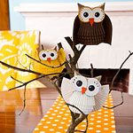 Give A Hoot Paper Owl Craft