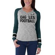 Womens Philadelphia Eagles Nike Green Warpspeed Epic Crew Sweatshirt