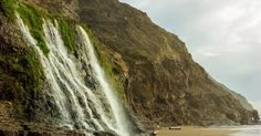 The hike to Alamere falls is ~8.4 mile out-and-back. Start at the Palomarin Trailhead located in the parking lot near the restrooms.