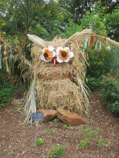 garden Scarecrows - Bing Images