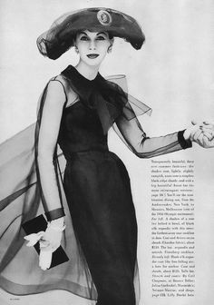 June Vogue 1956  photo by Richard Rutledge