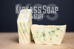 Kale & Lemon Kickass Soap by KickassSoap on Etsy