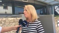 anatakti.gr: Ρένα Δούρου τα εγκαίνια της έκθεσης για την κάνναβ...