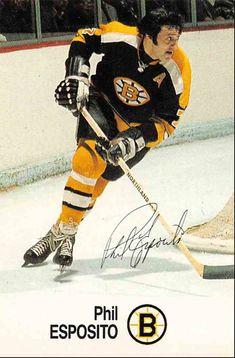Hockey Teams, Ice Hockey, Hockey Cards, Baseball Cards, Phil Esposito, Maple Leafs Hockey, Bobby Orr, Boston Bruins Hockey, Nhl Players