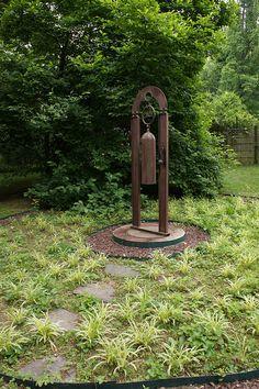 Metal bell garden art | Flickr - Photo Sharing!