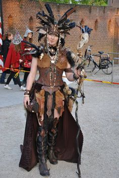 Druid costume by Zaza-Art.deviantart.com on @deviantART