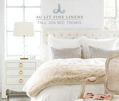 Au Lit Fine Linens | Fall Lookbook