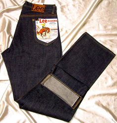 Reissue 1952 Lee 101z Riders jeans by Edwin