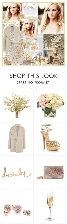 """""""Chrintmas time"""" by mery90 ❤ liked on Polyvore featuring INC International Concepts, James Perse, Charlotte Olympia, Nate Berkus, Chanel, GUESS, Wine Enthusiast and AERIN"""