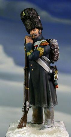 Granatiere della Vecchia Guardia Imperiale francese
