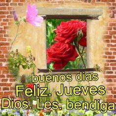 Buenos días! Feliz Jueves, Dios les bendiga #DaisyCeara #Piensa #Positivamente #Frases #Positivo #Hermosas #Optimismo #Motivacion #Agradecimiento #Sueños #Felicidad #Amor #Retos