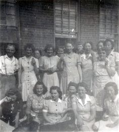Sept 13 1943 - Box factory workers  Workers at what appears to be the Merchant's Box Factory in Dallastown, PA.