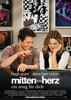 """""""Mitten ins Herz"""". Hugh #Frant & Drew #Barrymore"""