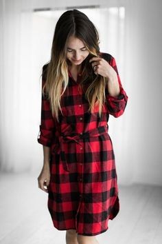 Sadie Plaid Dress