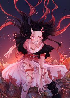Nezuko fanart (Demon Slayer Kimetsu no Yaiba), Martin F