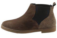 Produkttyp , Stiefel, |Verschlussart , Ohne Verschluss, |Laufsohle , Synthetiklaufsohle, |Schuhhöhe , Knöchelhoch (high), |Obermaterial , Leder, | ...
