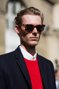 The Sartorialist / On the Street…After Dries Van Noten, Paris // #Fashion, #FashionBlog, #FashionBlogger, #Ootd, #OutfitOfTheDay, #StreetStyle, #Style
