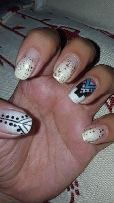 Étnico amado!! Nails, Painting, Beauty, Finger Nails, Ongles, Painting Art, Nail, Paintings, Painted Canvas