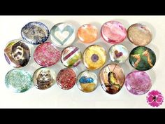 YouTube Video Tutorial: GLASS GEMS - 3 WAYS!  Made by kids for kids!