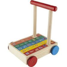 Resultado de imagen para wooden trolley cart kids