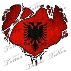 albania flag albanian flag design love my people pinterest albanien wappen und. Black Bedroom Furniture Sets. Home Design Ideas