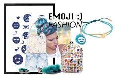"""Emoji"" by malargo23 ❤ liked on Polyvore featuring Lu West, Bari Lynn, Tai, Miu Miu, Hollister Co., MANGO and casuai"