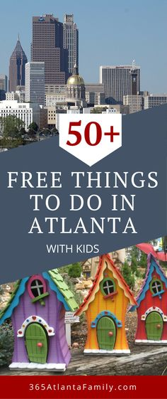 It is possible to have fun without spending a dime. Are you up for the challenge? Here is a collection of FREE things to do with in and around Atlanta with kids. We've got over 50 ways to have fun, and the collection keeps growing!