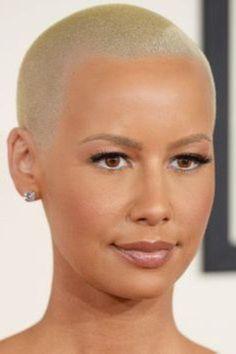 2014 Grammys Amber Rose Hairstyles