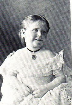 Empress Alexandra as a young girl.  Looks like Grandmother Victoria.  She must have had a cheerful temperament as a child, poor lady.